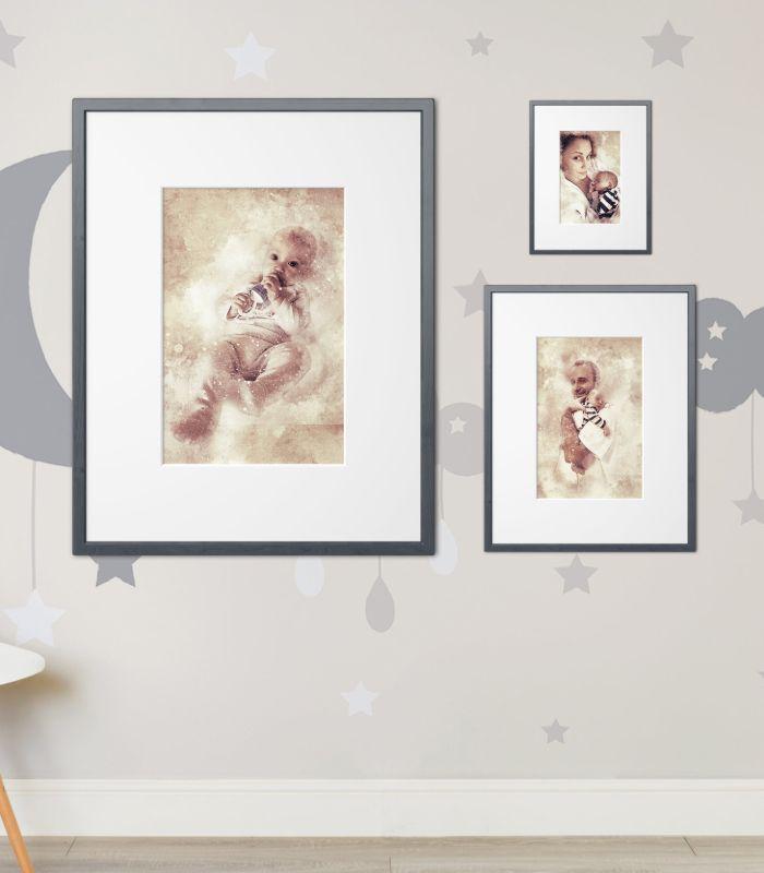 Personalized Stony Spark Photo Artwork 3